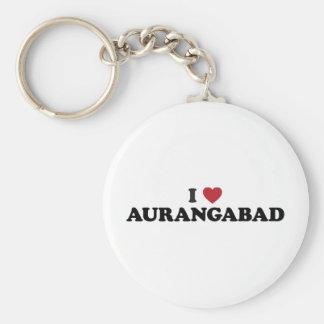 I heart Aurangabad, Maharashtra, India Keychain