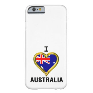 I HEART AUSTRALIA BARELY THERE iPhone 6 CASE