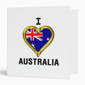 I HEART AUSTRALIA BINDER