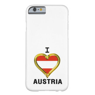 I HEART AUSTRIA BARELY THERE iPhone 6 CASE
