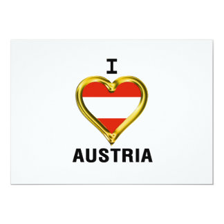 I HEART AUSTRIA CARD