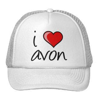 """""""i heart avon"""" Hat (white)"""
