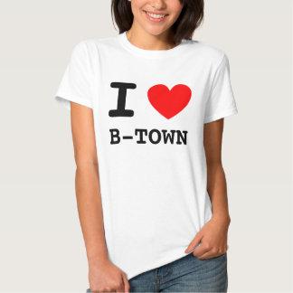 I Heart B-TOWN Tee Shirt