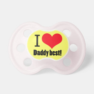 I HEART BABY PACIFIER