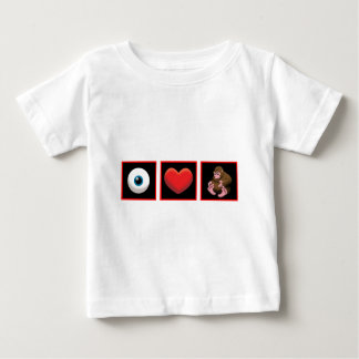 I HEART BABY SQUATCH BABY T-Shirt