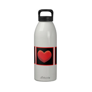 I HEART BABY SQUATCH REUSABLE WATER BOTTLE