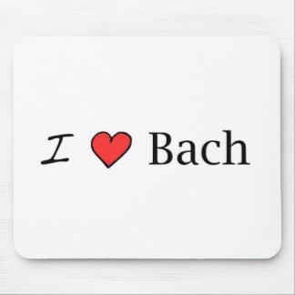 I Heart Bach Mouse Pad