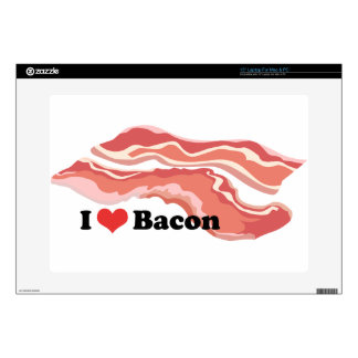 "I Heart Bacon 15"" Laptop Decals"