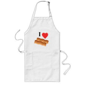 I heart bacon apron