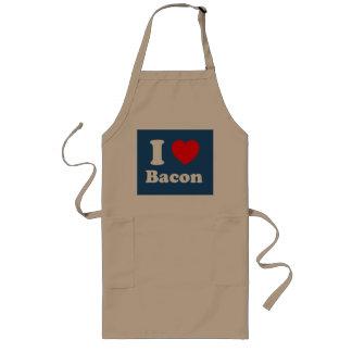I heart bacon commercial long apron