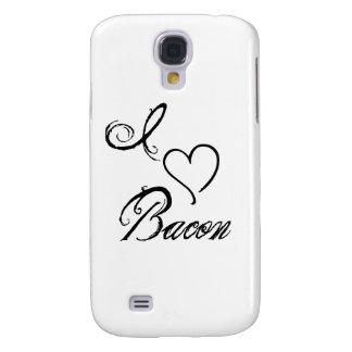 I Heart Bacon Galaxy S4 Covers