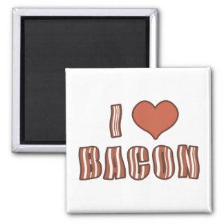 I Heart Bacon Magnet 001