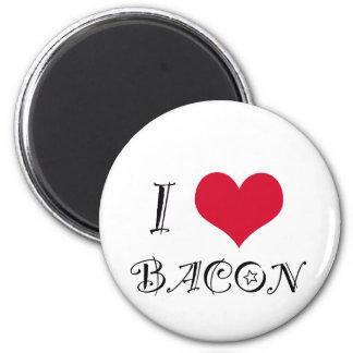 i-heart-bacon png imán para frigorifico