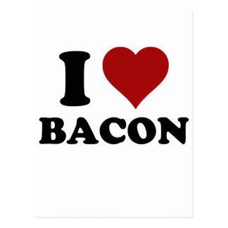 I HEART BACON POSTCARDS