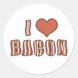 I Heart Bacon Stickers 001
