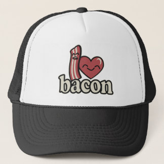 I Heart Bacon Trucker Hat