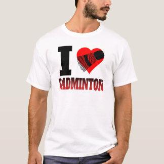 I Heart Badminton T-Shirt