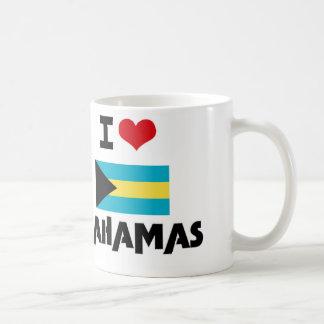 I HEART BAHAMAS COFFEE MUG