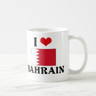 I HEART BAHRAIN COFFEE MUGS