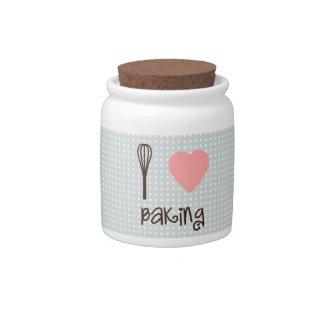 I Heart Baking! candyjar