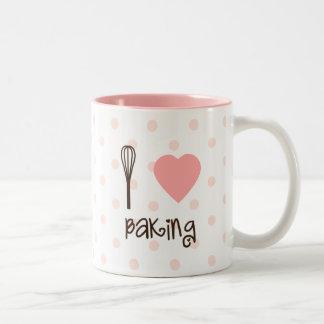 I Heart Baking! Mug
