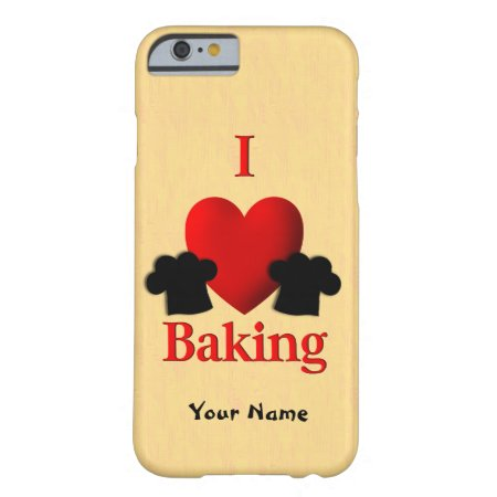 I Heart Baking Personal Barely There iPhone 6 Case