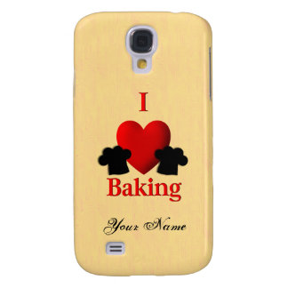 I Heart Baking Personal Samsung S4 Case