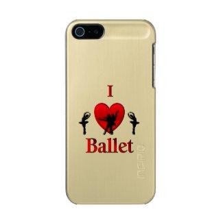 I Heart Ballet Dance Incipio Feather® Shine iPhone 5 Case