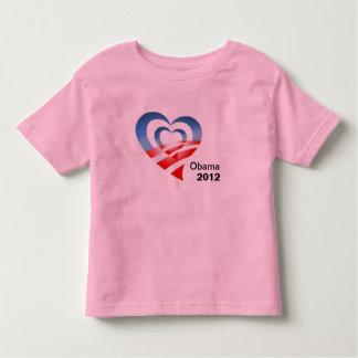 I heart Barack Obama - Obama 2012 Toddler T-shirt