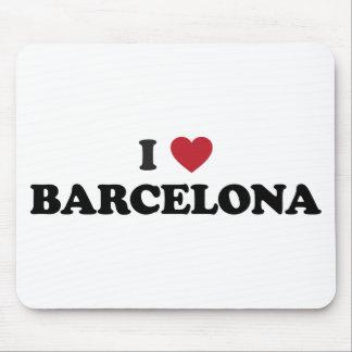 I Heart Barcelona Spain Mouse Pad