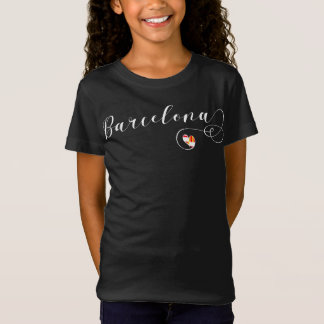 I Heart Barcelona Tee Shirt, Catelonia
