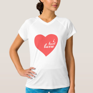 I Heart Barre Workout T-Shirt