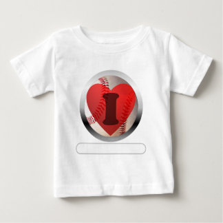 I HEART Baseball- add your words Infant T-shirt