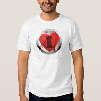 I HEART Baseball- add your words T-shirt