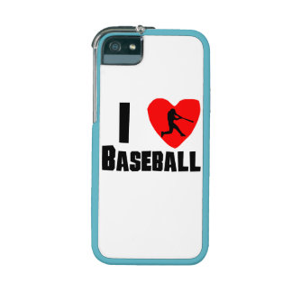 I Heart Baseball Cover For iPhone 5/5S