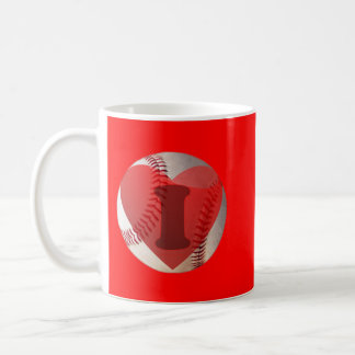 I heart Baseball Coffee Mug