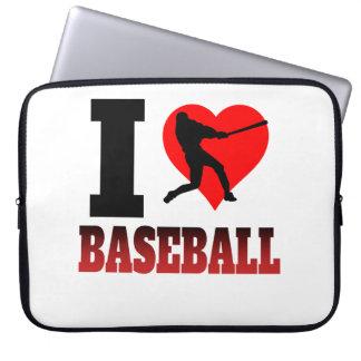 I Heart Baseball Laptop Computer Sleeve
