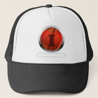 I heart Basketball- add your words Trucker Hat