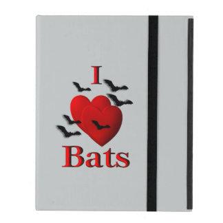 I Heart Bats iPad Folio Case
