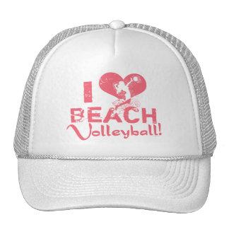 I Heart Beach Volleyball Trucker Hat