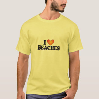 I (heart) Beaches - Lite Multi-Products T-Shirt