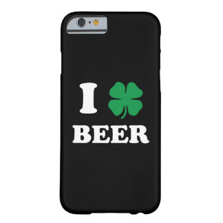 I Heart Beer Black Barely There iPhone 6 Case