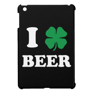 I Heart Beer Black iPad Mini Case