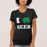 I Heart Beer Black T Shirt