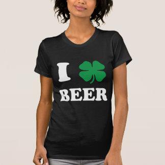 I Heart Beer Black Tshirts
