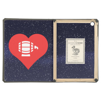 I Heart Beer Kegs Icon iPad Air Cover