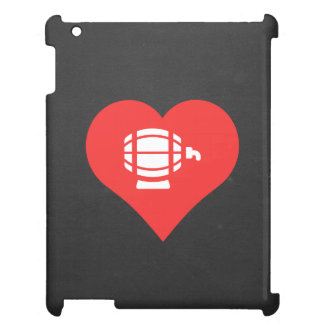 I Heart Beer Kegs Icon Case For The iPad