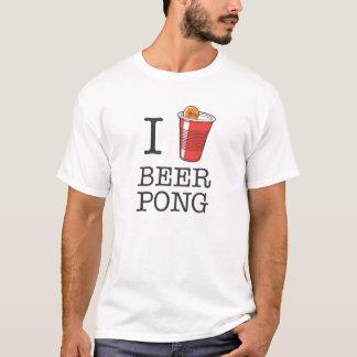 I Heart Beer Pong T-Shirt