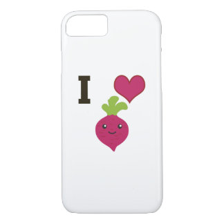 I Heart Beets iPhone 8/7 Case