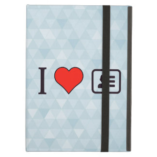 I Heart Being A Business Men iPad Air Cover